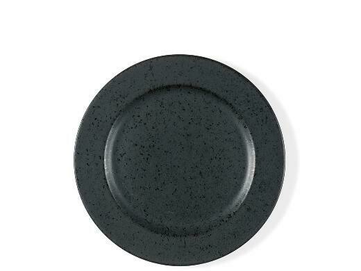 BITZ Dessert plate Dia. 22 cm Black