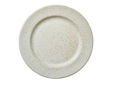 BITZ Dessert plate Dia. 22 cm Matte cream