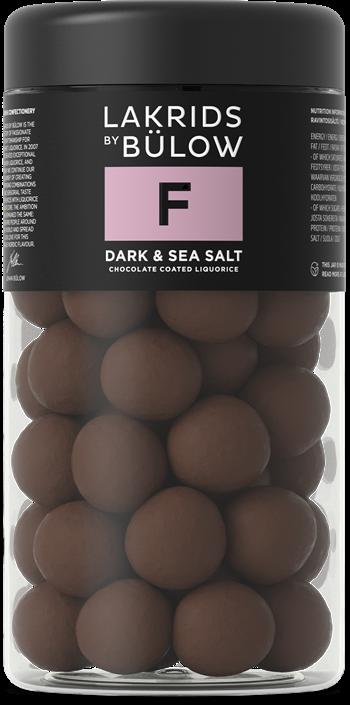 LAKRIDS F – DARK & SEA SALT, 295gr.