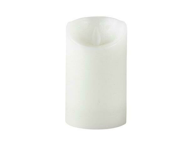 LED candle Dia. 7.5 x 12,50 cm White