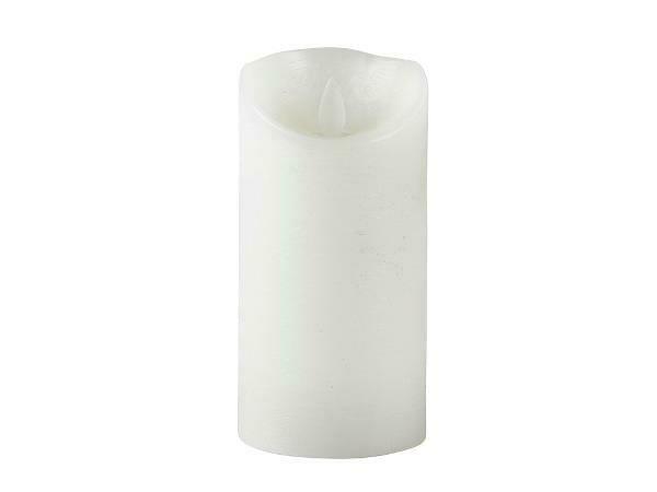 LED candle Dia. 7.5 x 15 cm White