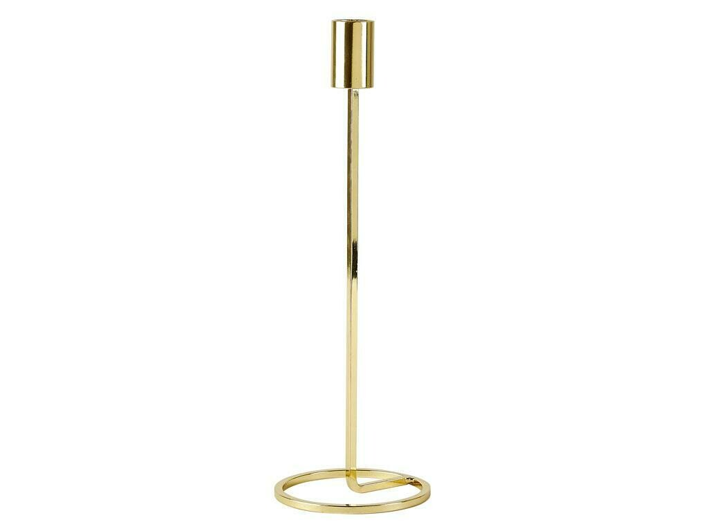 "Candlestick 29cm, ""Gold"""