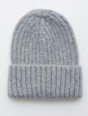 Fisherman Hat, Light Grey, alpaca wool