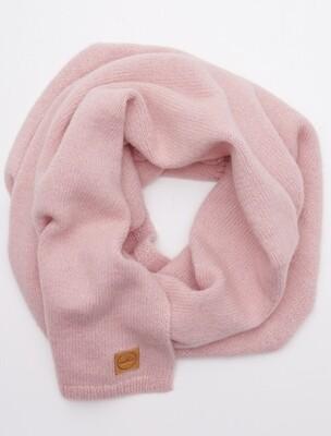 LONG CLASSIC ALPACA WOOL SHAWL, Pink