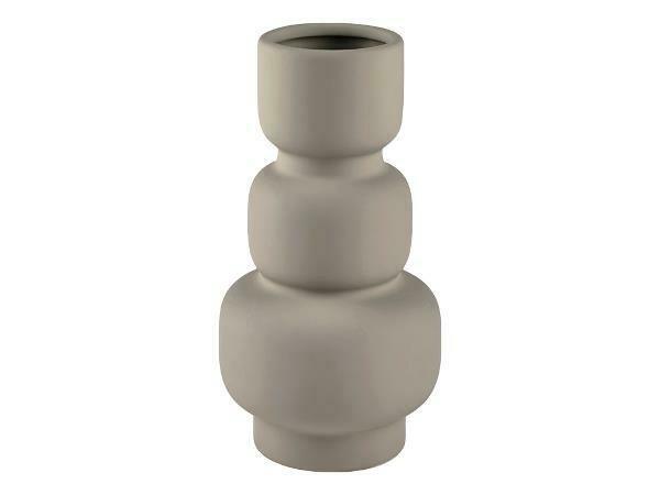 Vase Dia. 11,2 x H 21,3 cm Grey