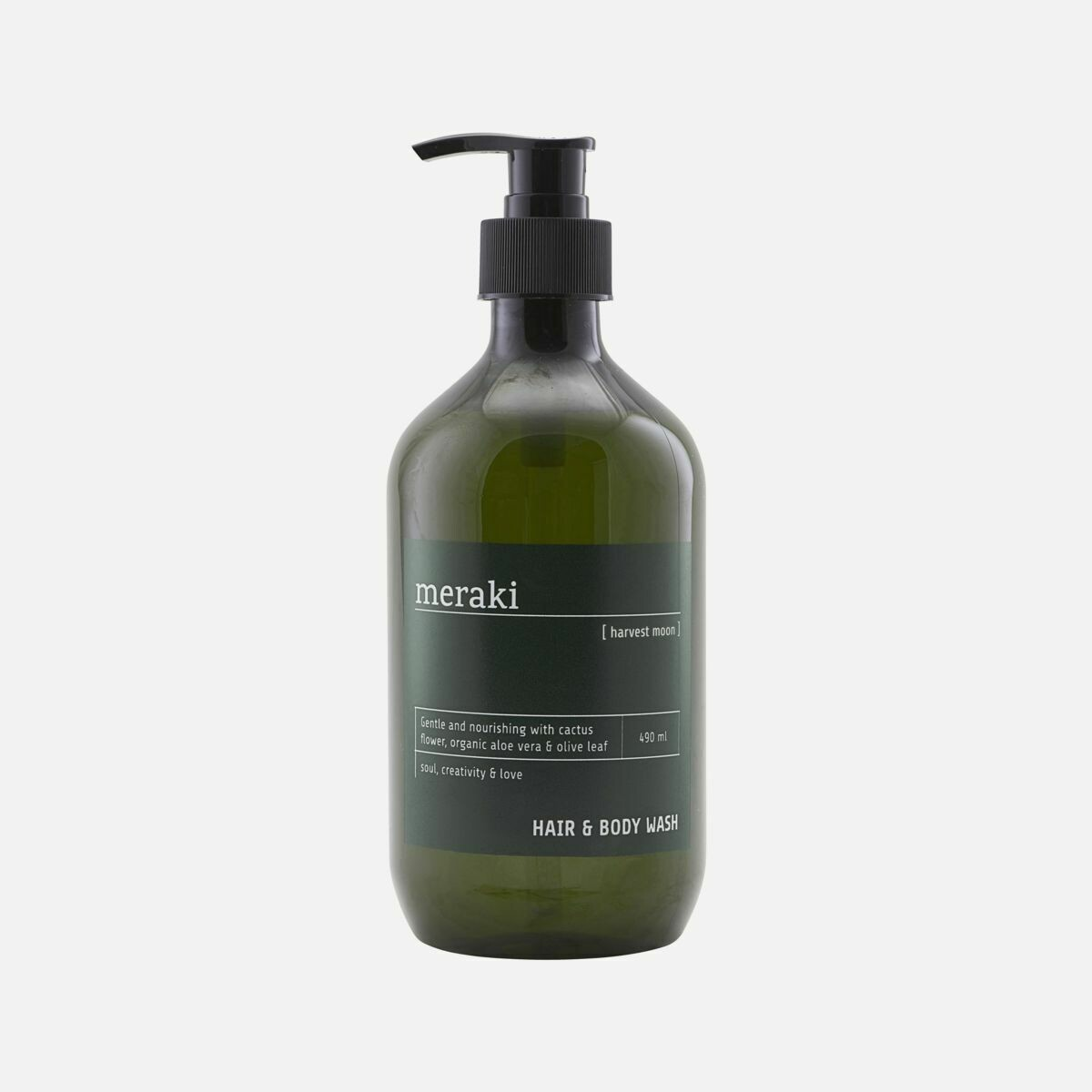 Hair & Body Wash, Harvest Moon, for men 490ml