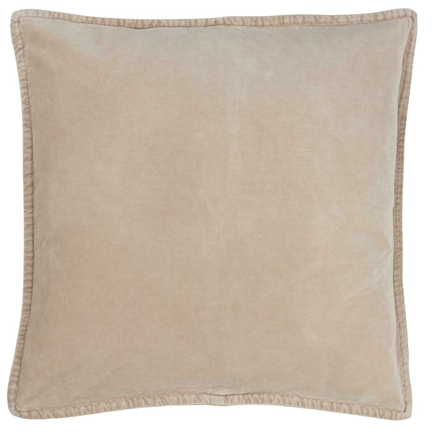 "Cushion cover velvet ""fog"""