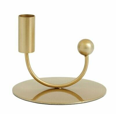 JUPITER candle holder, brass