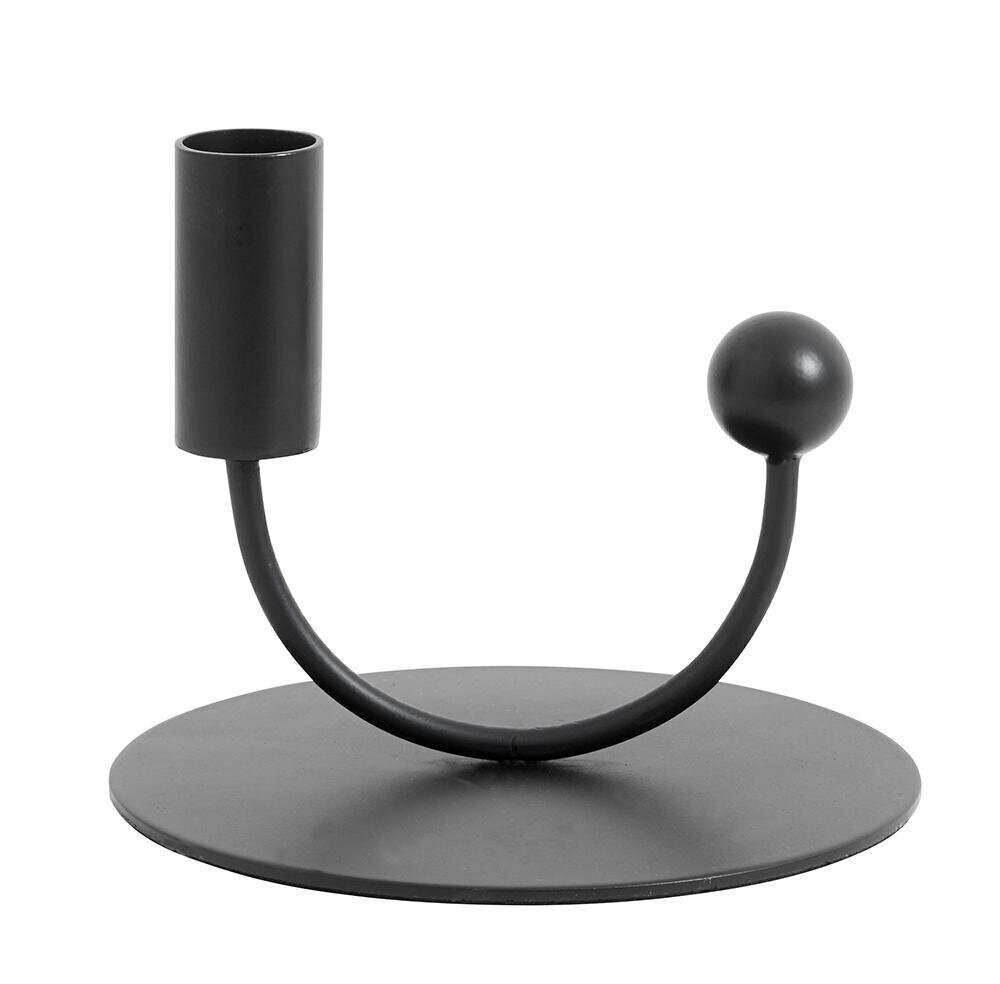 JUPITER candle holder, black