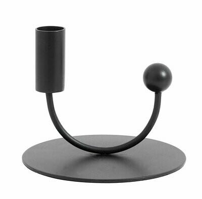 JUPITER candle holder, black