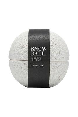 Ceramic snowball, ceramics, marzipan