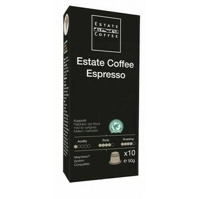 """Estate Coffee """"Espresso"""" Capsules, 10pcs"""