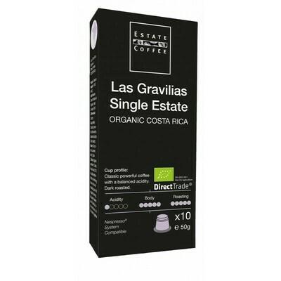"""Estate Coffee """"Las Gravillias Single Estate"""" Capsules, 10pcs"""