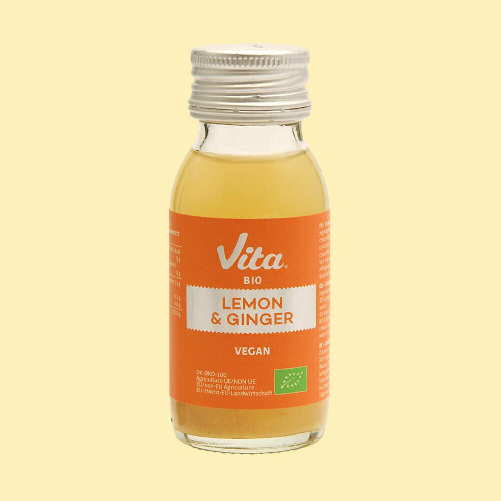 Juiceshot, Ginger & Lemon, 60ml