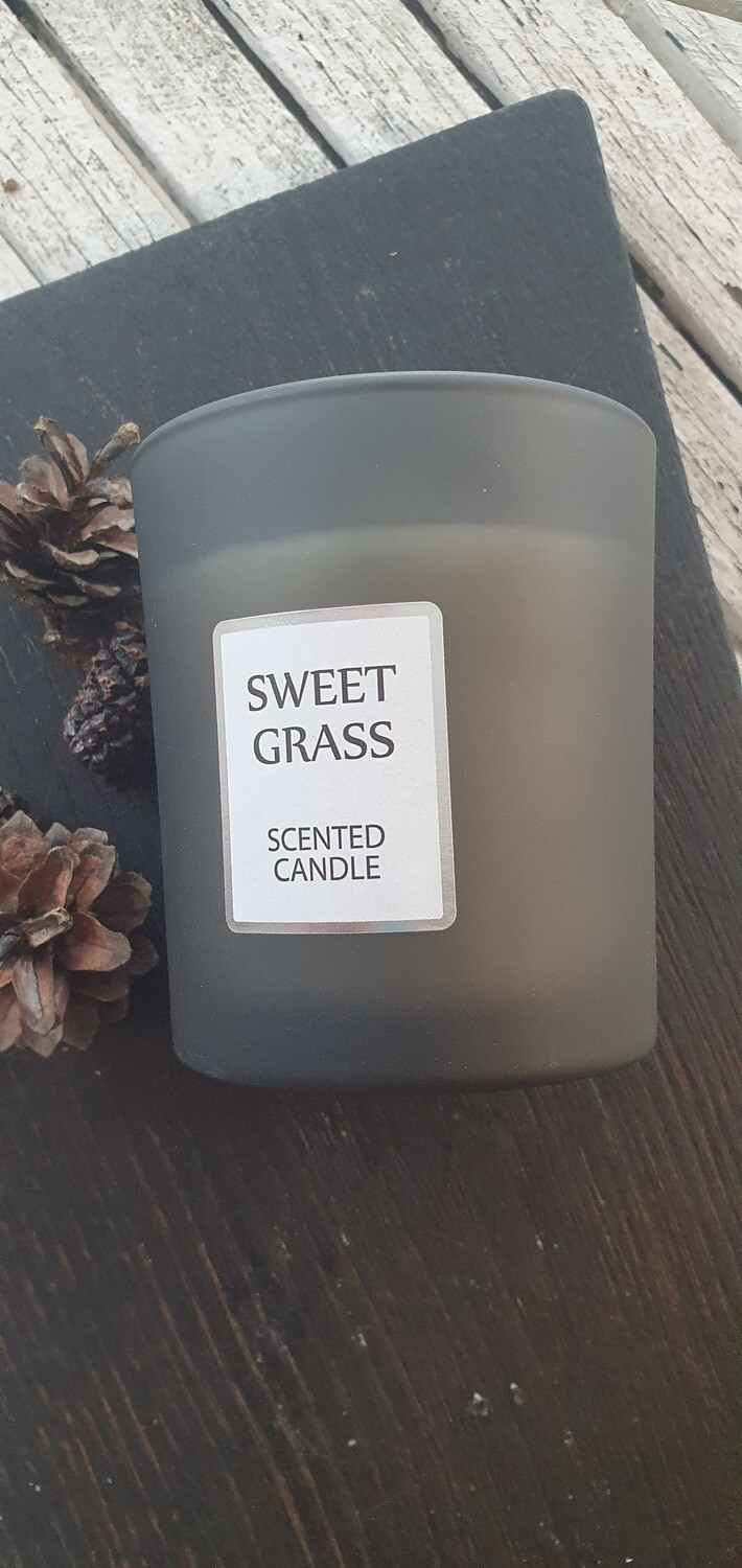 """Scented Candle, """"Cut Grass"""""""