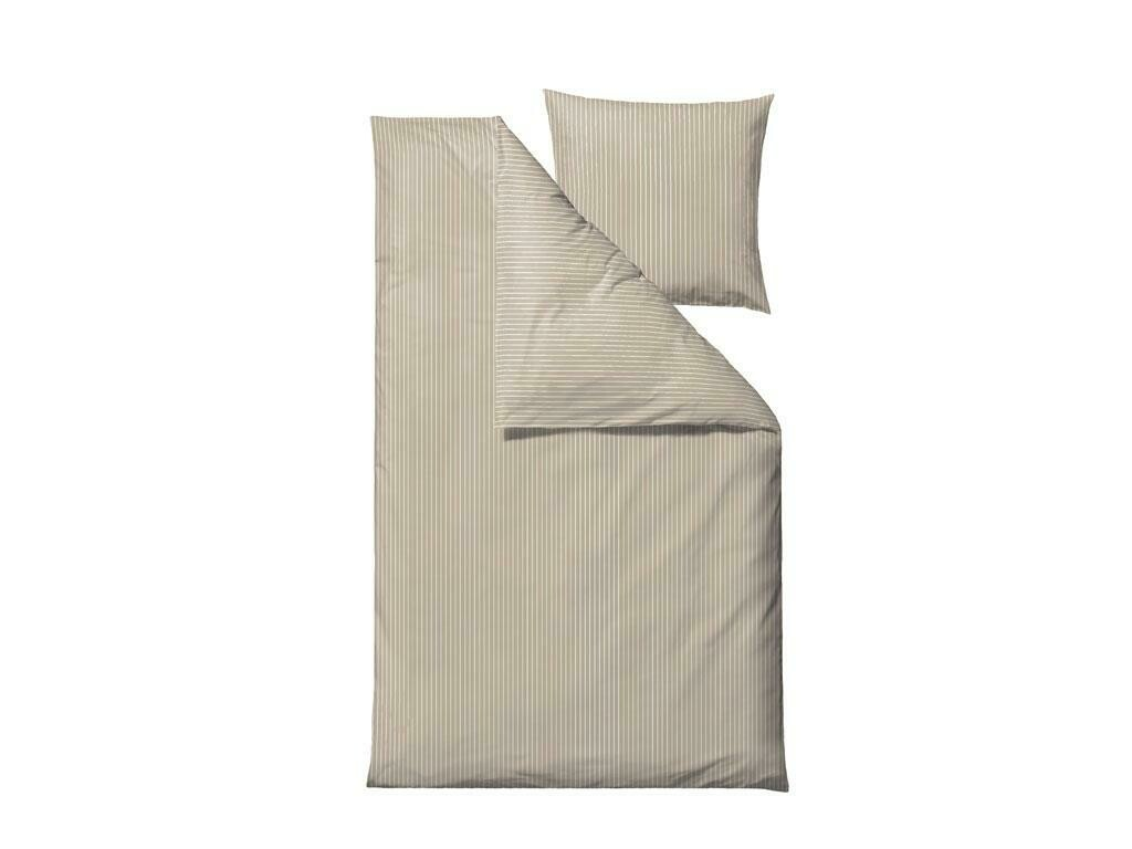 Bed linen Organic Common 140 x 200 cm,  Beige