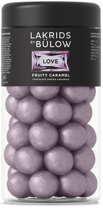 LOVE - FRUITY CARAMEL, 295gr.