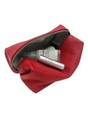 Cosmetic purse Red