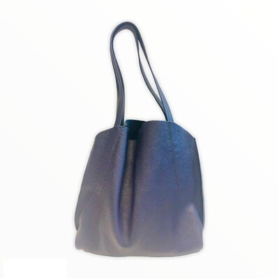 Slouchy Hobo blue/lilla