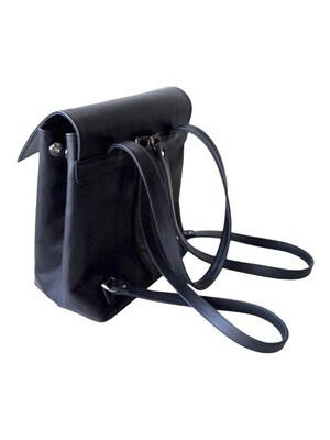 Backpack with lining, Black,