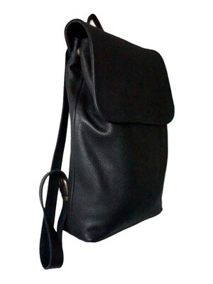 Backpack without lining, black