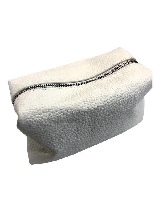 Cosmetic purse White