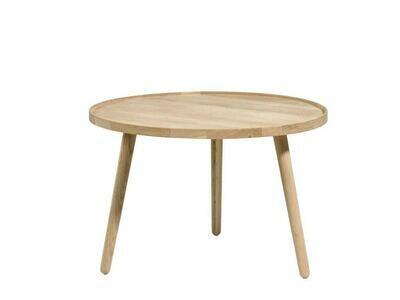 Table, White washed Oak, 70.5 x 70.5 x 44.5 cm