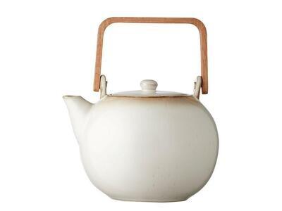 Teapot 1.2 litres Cream/Cream