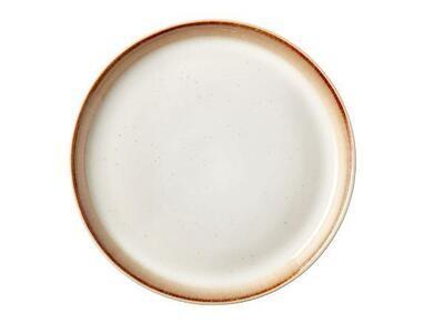 Gastro Cake Plate Dia. 17 x 2.0 cm Cream/cream