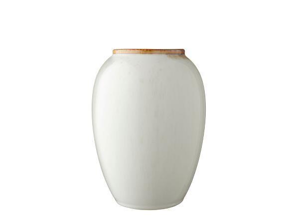 Vase 20 cm Cream/Cream