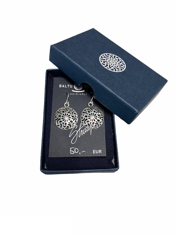 Sun symbol, earrings
