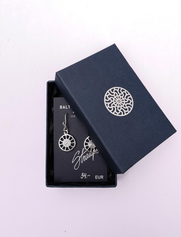 Sun symbol earrings