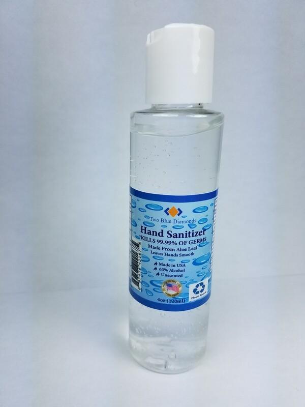 4oz Hand Sanitizer Gel