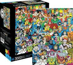 DC COMICS LINE UP 3000 PIECE JIGSAW PUZZLE
