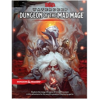 DUNGEONS AND DRAGONS 5E HC: WATERDEEP: DUNGEON OF THE MAD MAGE