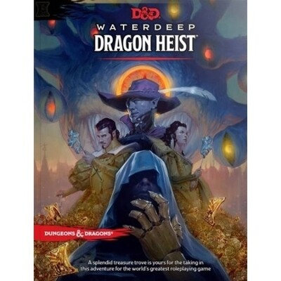 DUNGEONS AND DRAGONS 5E HC: WATERDEEP: DRAGON HEIST