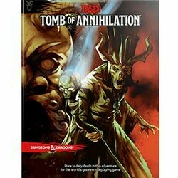 DUNGEONS AND DRAGONS 5E HC: TOMB OF ANNIHILATION