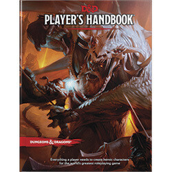 DUNGEONS AND DRAGONS 5E HC: PLAYERS HANDBOOK