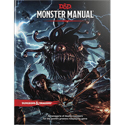 DUNGEONS AND DRAGONS 5E HC: MONSTER MANUAL