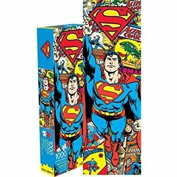 SUPERMAN SLIM 1000 PIECE JIGSAW PUZZLE