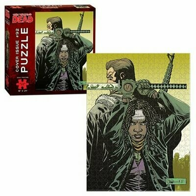THE WALKING DEAD COVER ART ISSUE #92 550 PIECE JIGSAW PUZZLE