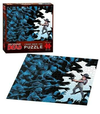 THE WALKING DEAD COVER ART ISSUE #50 550 PIECE JIGSAW PUZZLE