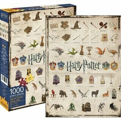 HARRY POTTER ICONS 1000 PIECE JIGSAW PUZZLE