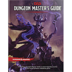 DUNGEONS AND DRAGONS 5E HC: DUNGEON MASTERS GUIDE