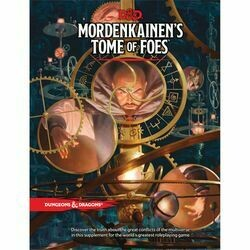 DUNGEONS AND DRAGONS 5E HC: MORDENKAINEN'S TOME OF FOES