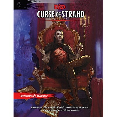 DUNGEONS AND DRAGONS 5E HC: CURSE OF STRAHD