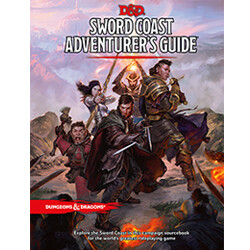 DUNGEONS AND DRAGONS 5E HC: SWORD COAST ADVENTURER'S GUIDE