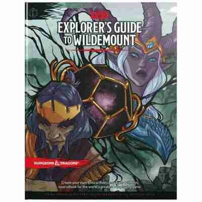 DUNGEONS AND DRAGONS 5E HC: THE EXPLORER'S GUIDE TO WILDEMOUNT