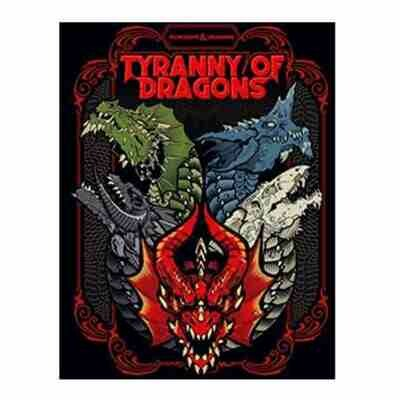 DUNGEONS AND DRAGONS 5E HC: TYRANNY OF DRAGONS - ALTERNATIVE COVER