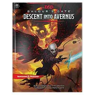 DUNGEONS AND DRAGONS 5E HC: BALDUR'S GATE: DESCENT INTO AVERNUS